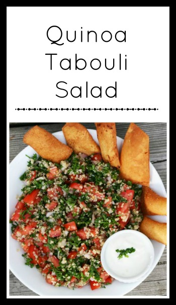 Quinoa Tabouli Salad: Get the recipe for this cheap and totally delicious salad.