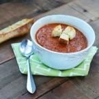 Tomato and lentil soup recipe