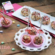 "Cereal pops recipe. Learn how to make homemade cereal ""lollipops"" at home!"