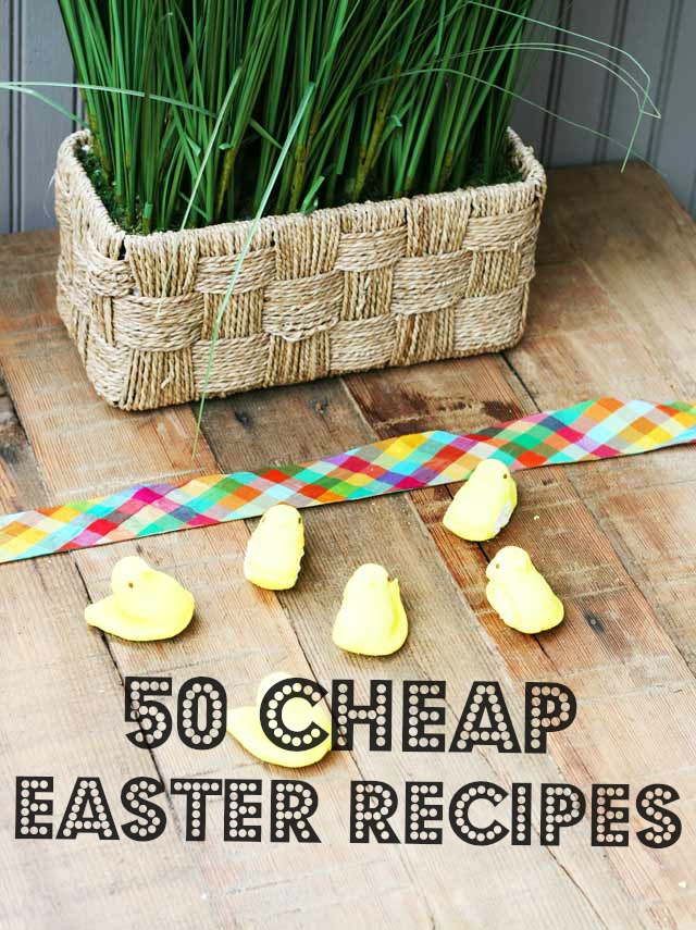 50 cheap easter recipes cheap recipe blog 50 cheap easter recipes forumfinder Images