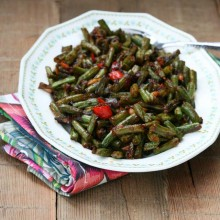 Spicy green bean appetizer recipe
