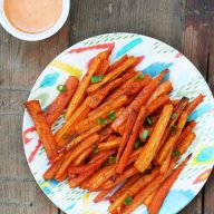 Carrot fries recipe