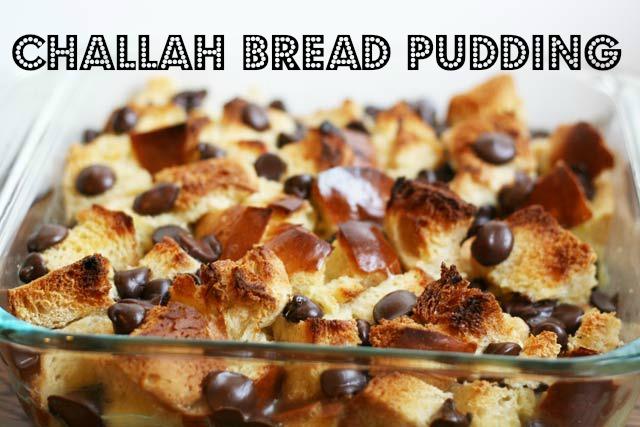 Challah Bread Pudding Recipe