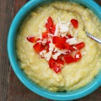 Cheesy cornbread soup: A copycat recipe from Starboard Market in Clear Lake, Iowa.