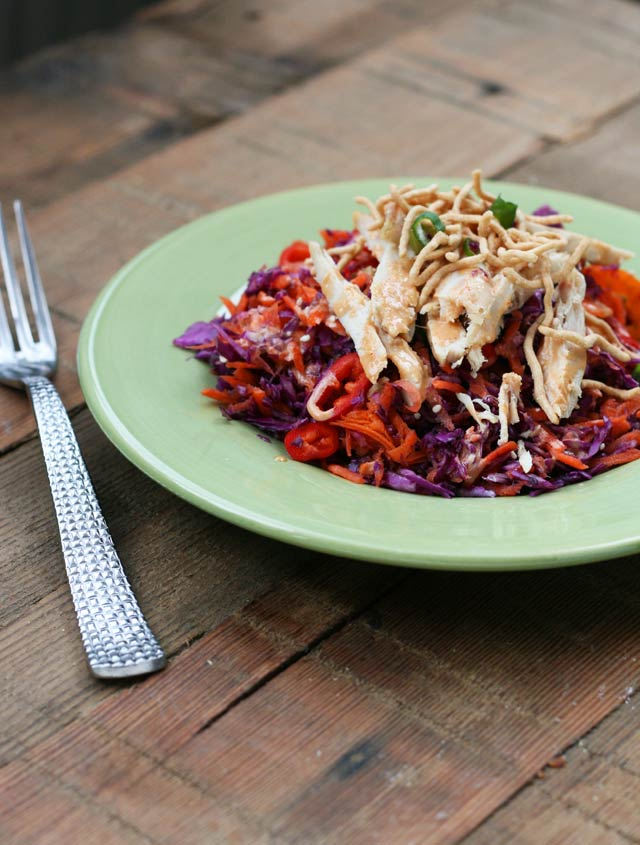 Cheap Chinese chicken salad recipe from Cheap Recipe Blog