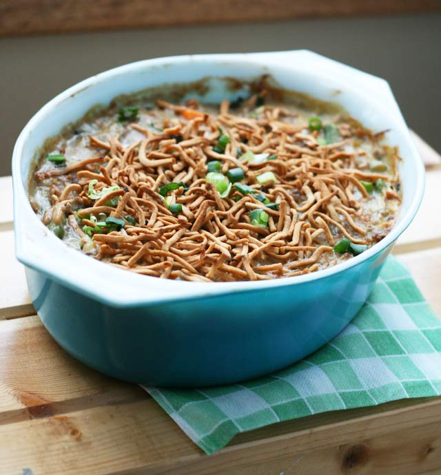 Chow mein noodle hotdish: A Minnesota favorite! Click through for recipe.