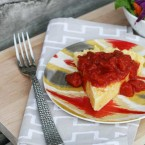 Pizza-style polenta recipe