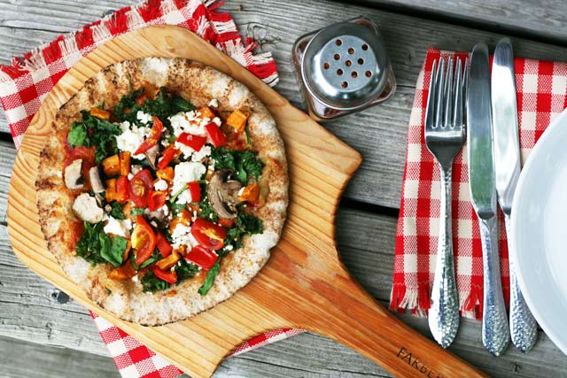 Superfood pizza recipe