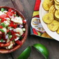 Spicy Banana Salsa