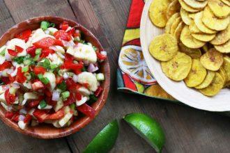 Spicy banana salsa recipe