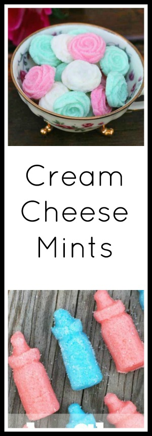 How to make simple homemade cream cheese mints. Click through for instructions!