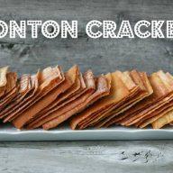Wonton crackers recipe from Cheap Recipe Blog