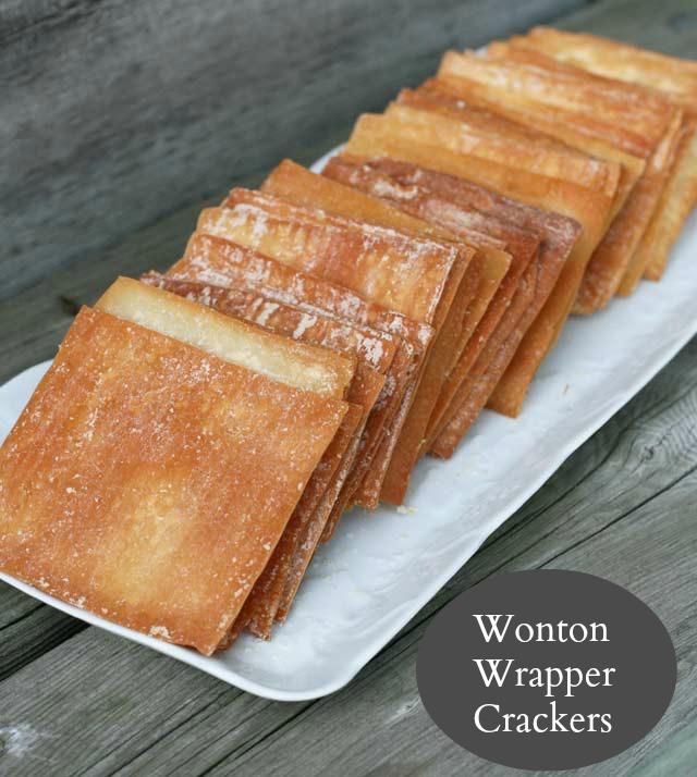 Wonton Crackers Recipe