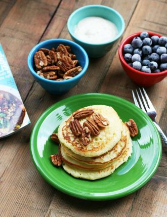 Yeast pancakes (flappers) recipe