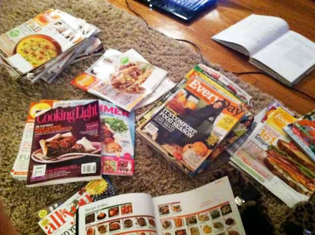 My magazine collection