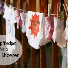 Cheap recipes for a baby shower
