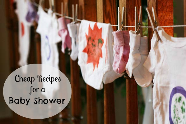 Cheap Recipes For A Baby Shower. Tips To Save You Money While Still  Throwing A