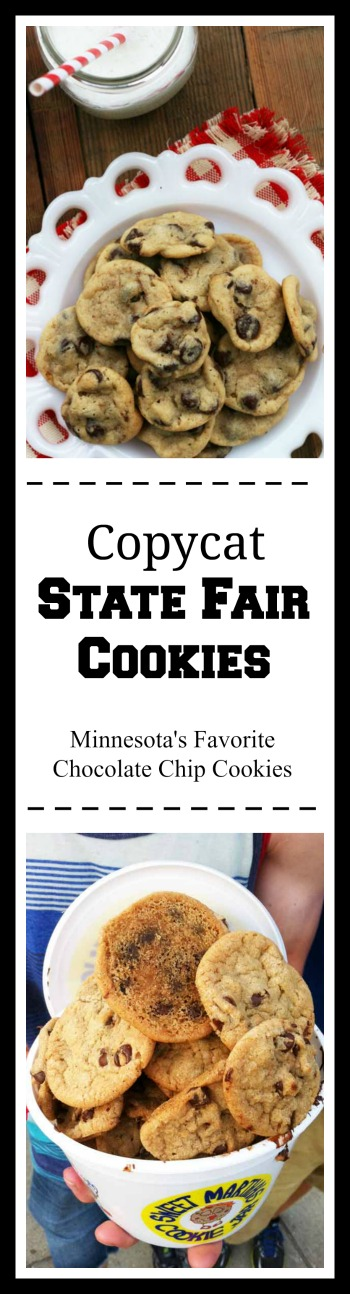 Copycat Sweet Martha's Cookies, from the Minnesota State Fair. Minnesota's favorite chocolate chip cookie! Click through for recipe.