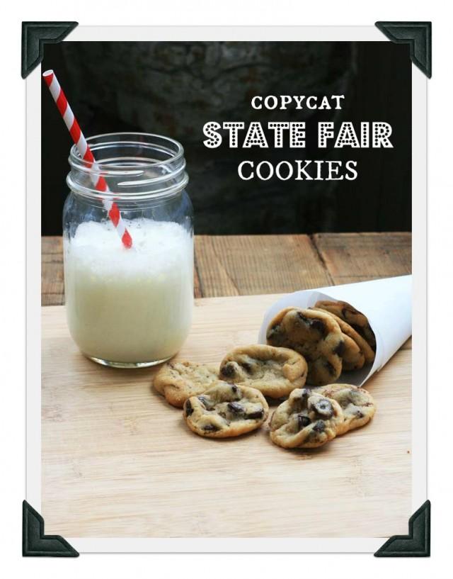 Copycat state fair cookies from Minnesota (Sweet Martha's Cookies)