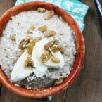 Oatmeal risotto recipe