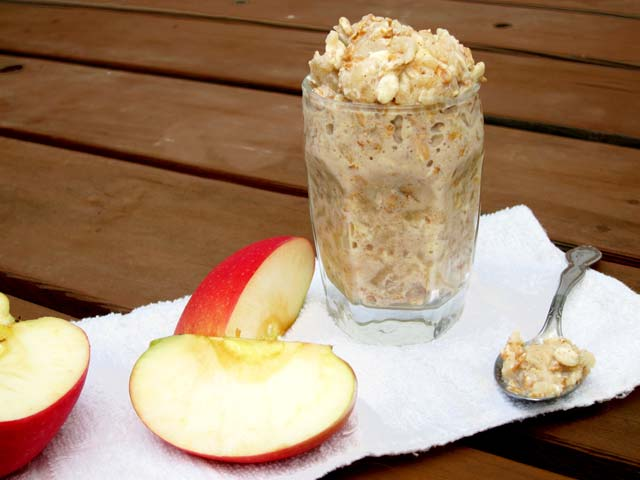 Applesauce overnight oatmeal recipe
