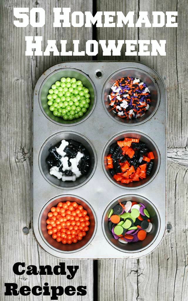 50 Homemade Halloween Candy Recipes - a recipe roundup from Cheap Recipe Blog
