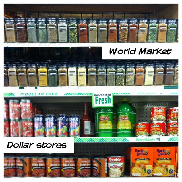 Alternative places to shop for deals on groceries, from Cheap Recipe Blog
