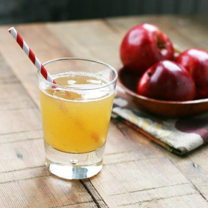 Homemade apple soda recipe, from Cheap Recipe Blog