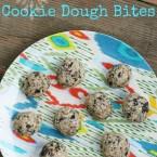 Raw espresso bean cookie dough bites, from Cheap Recipe Blog
