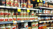 Canned goods are usually a good deal at Whole Foods