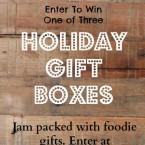 Enter to win a holiday gift box from Cheap Recipe Blog