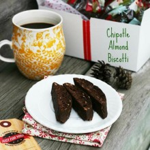 Chipotle almond biscotti recipe, from Cheap Recipe Blog