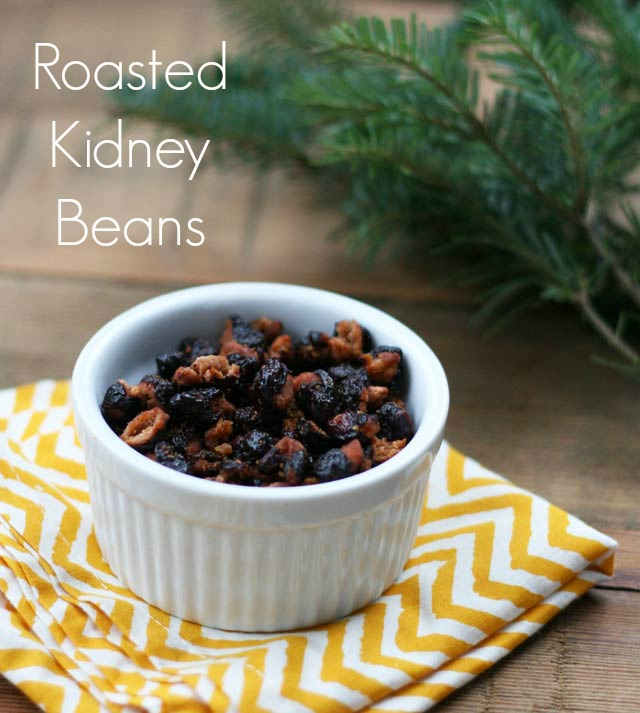 Do you like roasted chickpeas? Then you'll love these roasted kidney beans. Addictive and delicious!