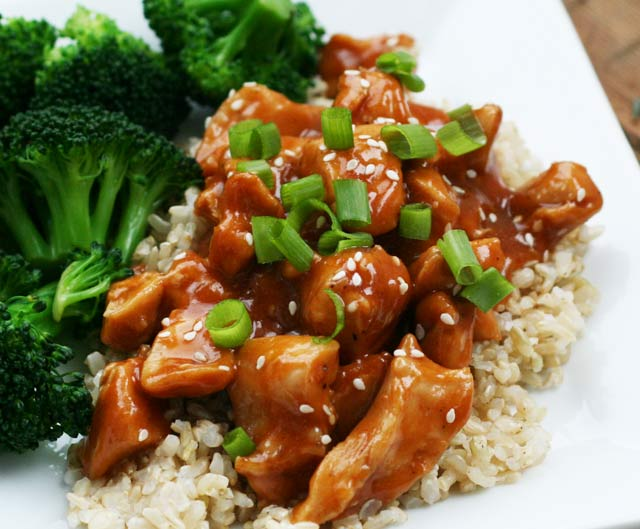 Crockpot sesame chicken recipe