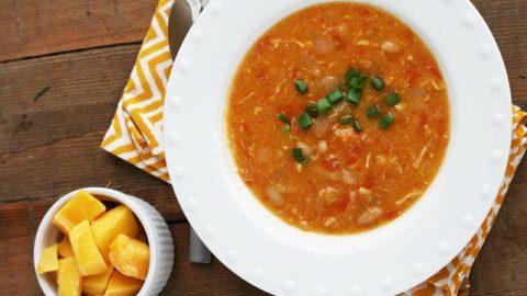 Mango Habanero Chicken Chili Cheap Recipe Blog