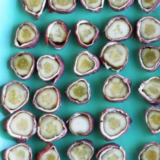 Pickle rollups recipe, from Cheap Recipe Blog