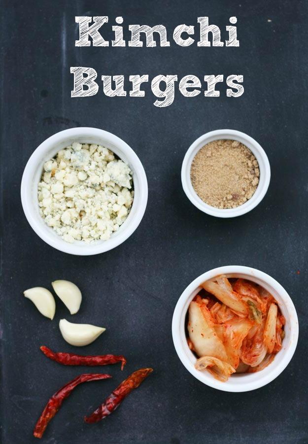 Kimchi burgers: A crazy flavorful burger recipe!