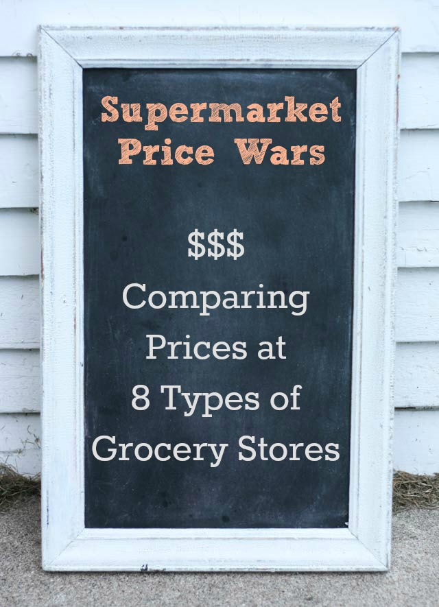 Which supermarket is the cheapest? Click through to find out.