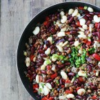 Three bean hotdish recipe, from Cheap Recipe Blog