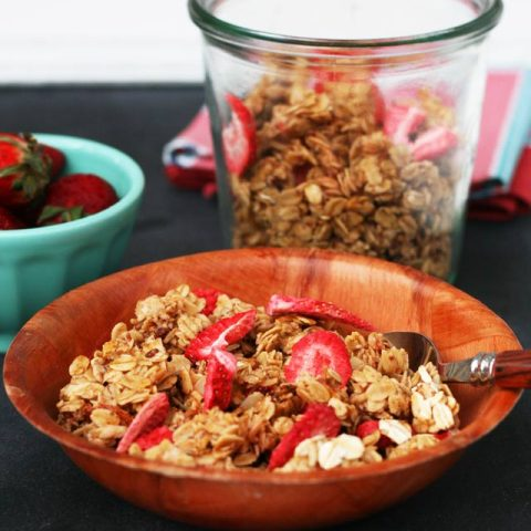 Strawberry Granola Recipe