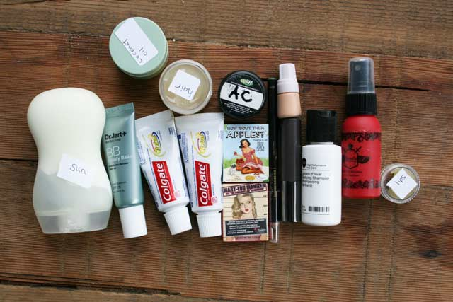 Tips For Packing Light (cosmetics) Nice Ideas