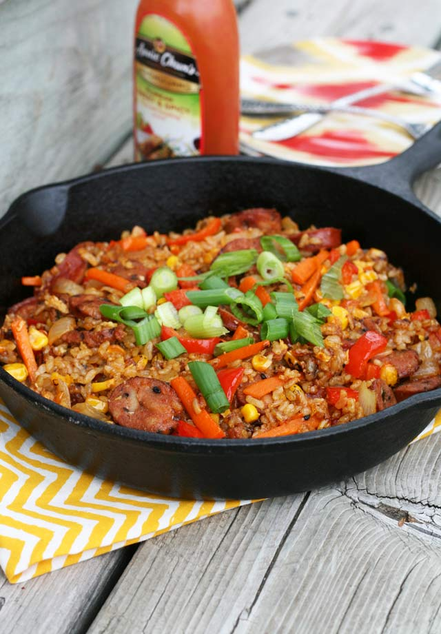 Korean barbecue fried rice