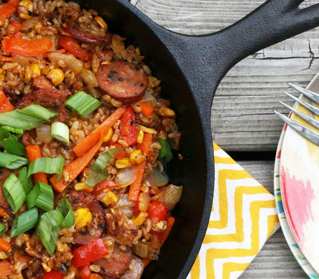 Korean fried rice: An extremely bold, flavorful fried rice.