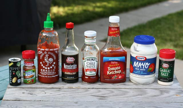 All-purpose dipping sauce ingredients
