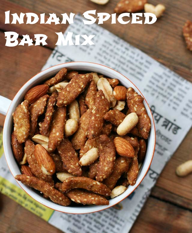 A simple bar mix recipe made fancy with Indian spices. @cheaprecipeblog