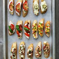 Entertaining on a budget: Use crostini