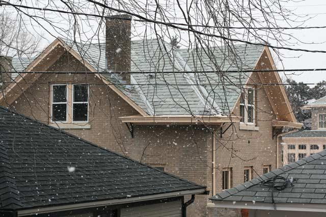 First snow: Cheap Recipe Blog