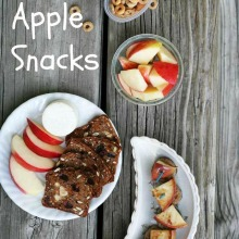 7 easy apple snacks for fall