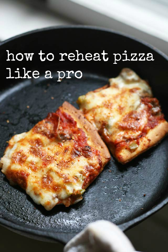 How to reheat pizza like a pro, from Cheap Recipe Blog