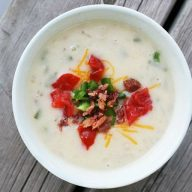 Creamy potato soup, a $10 Food Day Recipe.